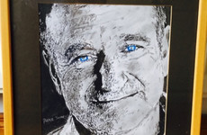 A lad with dyslexia from Kildare drew an excellent portrait of Robin Williams for a lovely reason