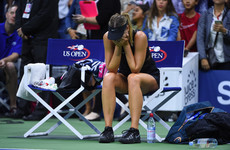 'I had no right to win': Emotional Sharapova causes upset on Grand Slam return