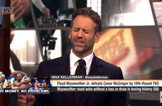 'He is an exceptional fighter': Max Kellerman changes his tune after spirited McGregor effort