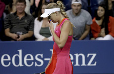 Another top seed bites the dust as Wozniacki crashes out of US Open