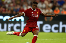 Liverpool striker Divock Origi makes Bundesliga loan switch