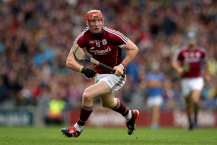 Conor Whelan in possession during the All-Ireland SHC semi-final against Tipperary.