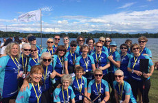 'When I was sick with cancer I had no energy or enthusiasm. Then I heard about dragon boating'