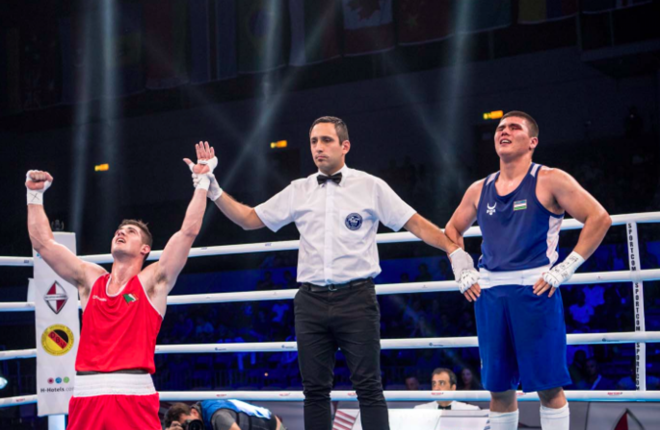 Superb Joe Ward reaches second successive World Boxing Championships final