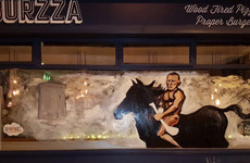 A restaurant in Waterford has gone all out with this John Mullane mural ahead of the All-Ireland final