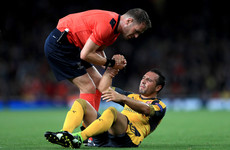 Santi Cazorla left out of Arsenal's 25-man Premier League squad ahead of 2018 return