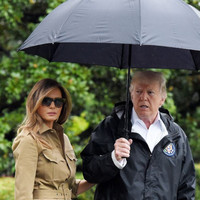 Trump arrives in Houston to see devastation left by Hurricane Harvey