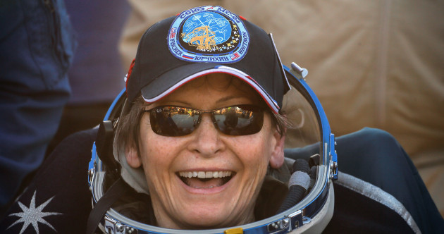 Pictures: After 9 months in space, record-breaking astronaut returns to Earth