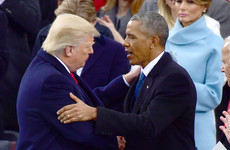 People are really impressed with the classy handwritten letter Obama left for Trump in the Oval Office