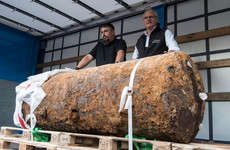 People in evacuation zone well past deadline as WWII bomb finally defused in Frankfurt