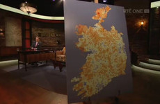 RTÉ receives 203 complaints over controversial Late Late Show map