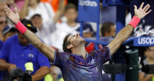 Del Potro nearly forfeited US Open epic before recovering to book Federer showdown