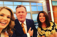 Piers Morgan said he was 'manning up', but Twitter put him firmly in his place