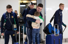 'We had one TV camera turn up at the airport to see him'