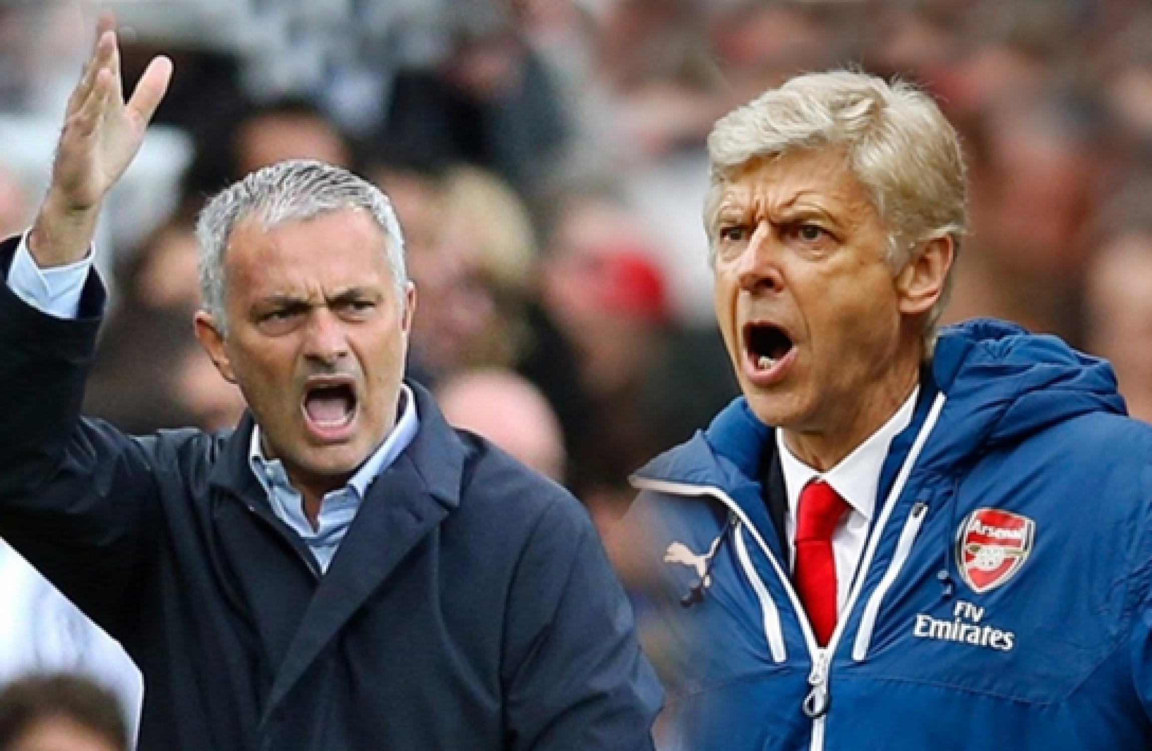 Mourinho takes serious shots at Arsenal boss Wenger