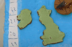 People were quick to point out that this GBBO contestant's map of Britain included Ireland