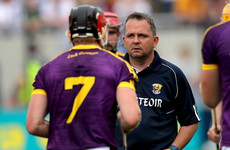 Davy Fitzgerald agrees to stay on as Wexford manager in 2018