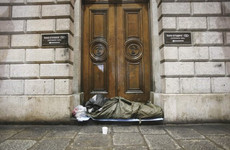 The number of homeless families in Ireland has increased by almost 300 in the past year
