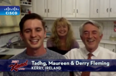 The viral 'bat video' family from Kerry ended up on Jimmy Kimmel and of course Derry still had the shorts on