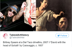 The genius Tabloid Art History Twitter account compares paparazzi shots with priceless paintings