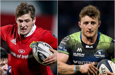 Young Munster and Connacht centres facing lengthy period on the sideline
