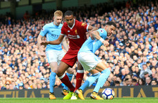 As it happened: Manchester City vs Liverpool, Premier League