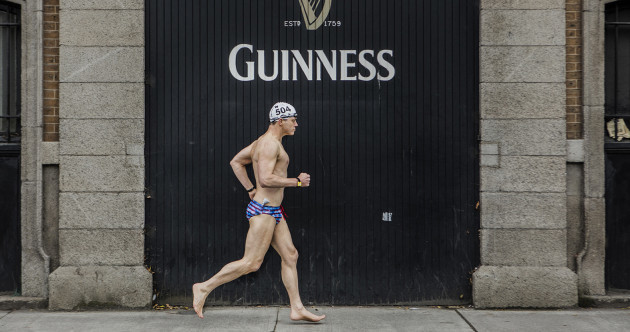 Photos: Swimmers brave the autumn chill to take part in Dublin's historic Liffey Swim