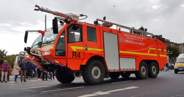 'A proud day': Hundreds of frontline emergency workers parade through Dublin