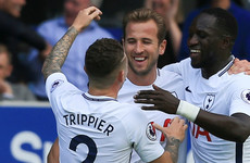 Kane scores 100th Tottenham goal with stunner against Everton