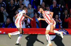 Stoke's summer signing stars as Man United's 100% start comes to an end