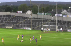You're unlikely to see a better hurling score that doesn't involve a hurley