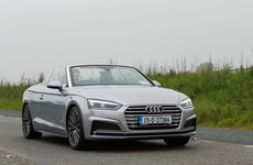 'If I had the kahunas to drive a €70k convertible, the Audi A5 Cabriolet would be top of my list'