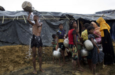 UN accuses Myanmar of 'ethnic cleansing' as thousands of Rohingyas flee the country