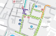 Drive through Dawson Street? You'll have to find a new route from now on