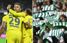 Neymar and Mbappe head to Celtic Park and what to look out for as the Champions League returns