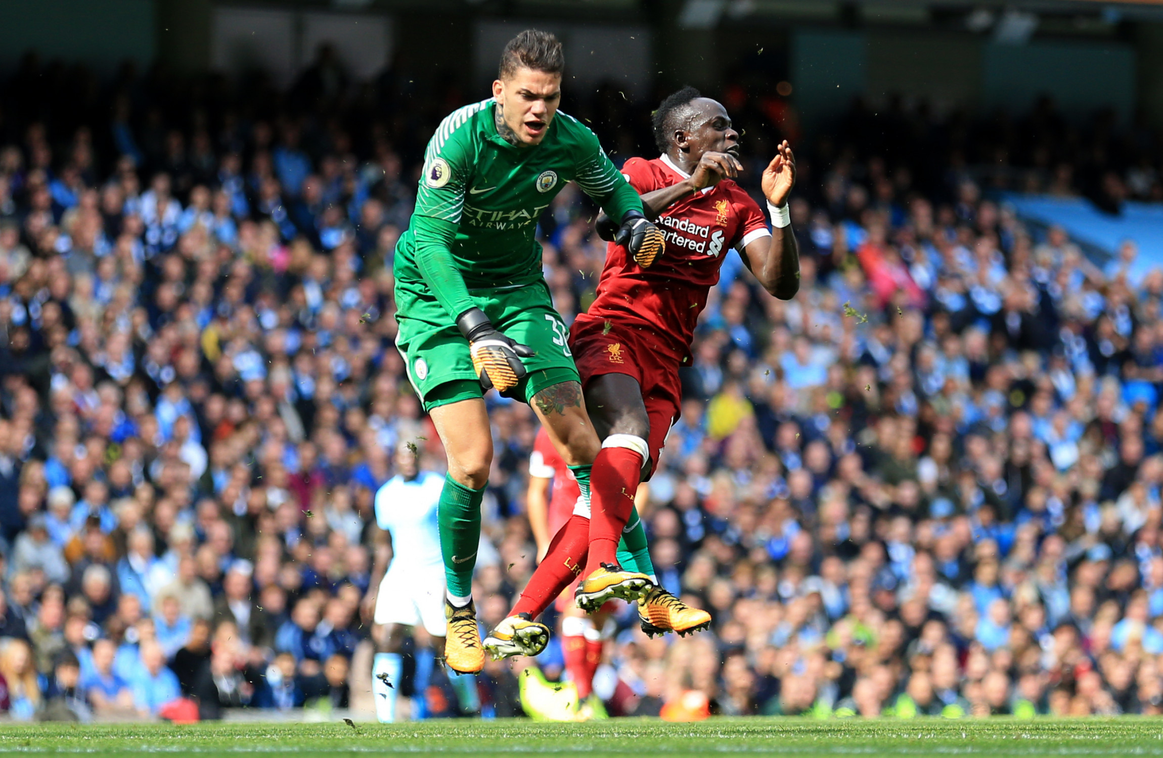 Man City keeper Bravo raps Mane: You could've avoided Ederson