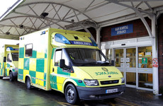 Brick thrown through window of ambulance parked at Dublin hospital