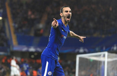 Did he mean it? Zappacosta scores stunning goal on his Champions League debut