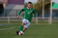 Jack Byrne scores 25-yard stunner as he continues to impress on loan at Oldham