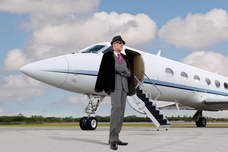A very rich man.