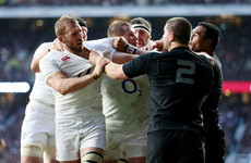England to take on the All Blacks for the first time in four years