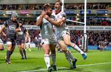 Late Andrew try seals stunning victory for Ulster over champions Scarlets
