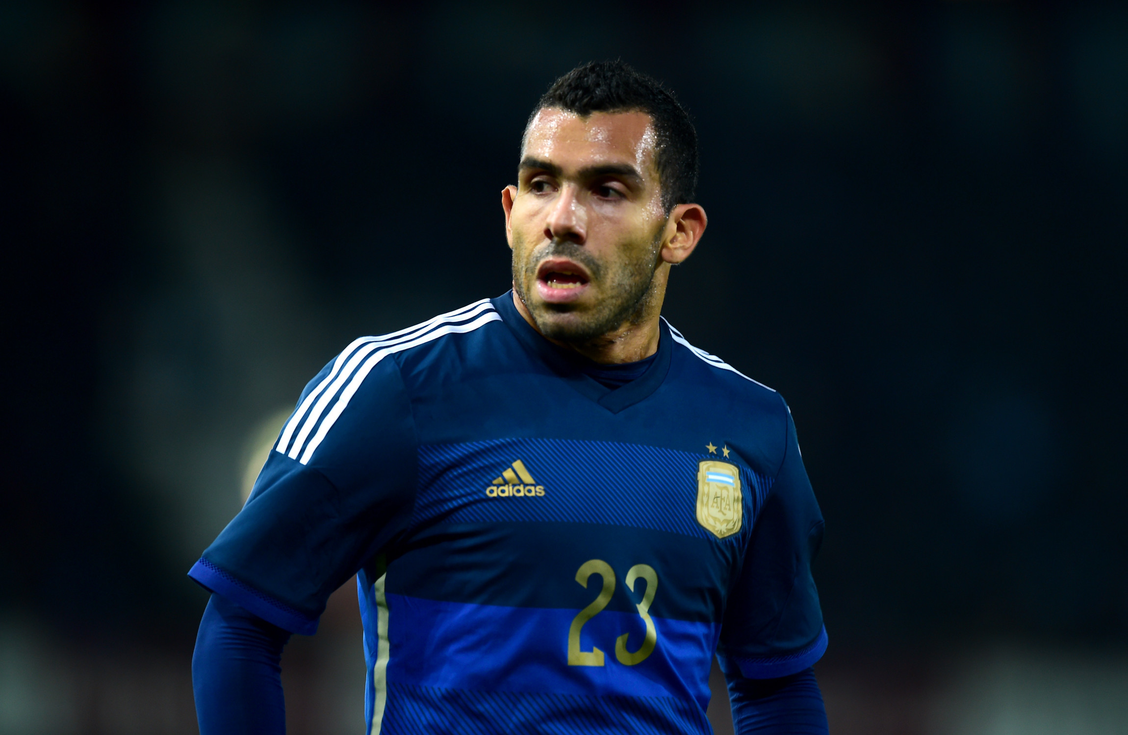 Different Tevez in extra training to shed weight · The42