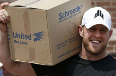 NFL star raises a staggering $37million for the Hurricane Harvey relief effort
