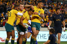 Australia come from behind to seal first Rugby Championship win
