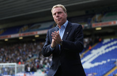 Harry Redknapp sacked by Birmingham 8 games into the season