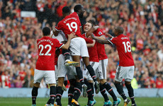 Emphatic United score four as Rooney endures tough return to Manchester