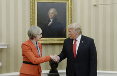 Theresa May says Trump visit still on despite his terror tweets