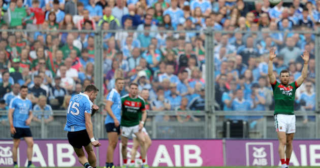 'I struck it well and the rest is history now': Rock holds his nerve to deliver for Dublin