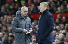Koeman takes swipe at Mourinho after 'top four' claim